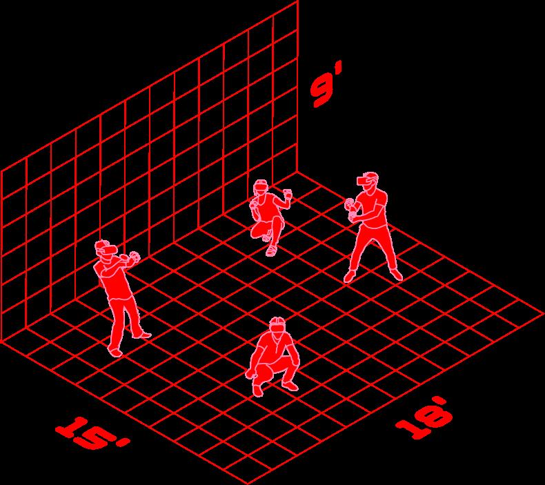 vr playspace diagram